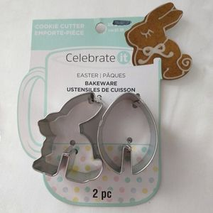 Celebrate It Easter Cookie Cutters Bunny Rabbit Ea
